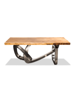 monkey pod live edge dining table top