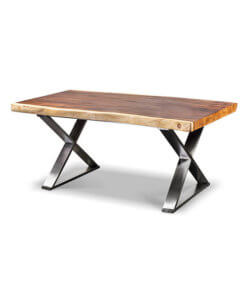 solid one slab dining table