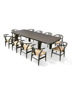 Solid Wood Long Dining Table