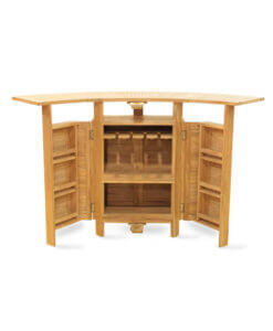 solid wood storage bar cabinet
