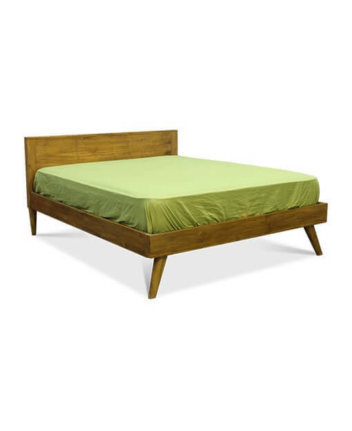 Solid wood bed frame Queen