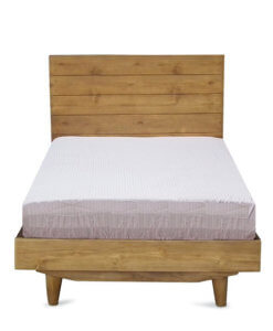 single size solid wood bed frame sg