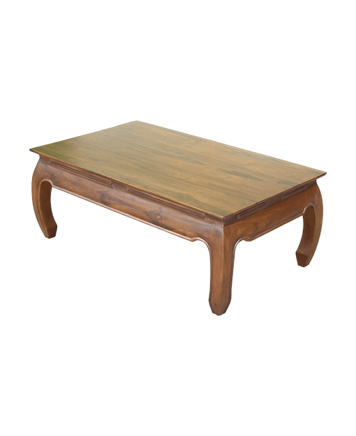 Opium Teak Rectangle Coffee Table | Shop Furniture Online ...
