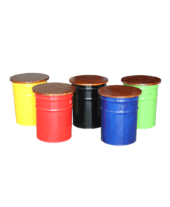 storage drum stools