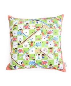 Dragons and Elephants cushion cover