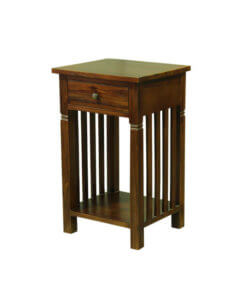 solid wood nightstand sg