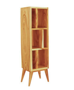 solid wood book rack sg