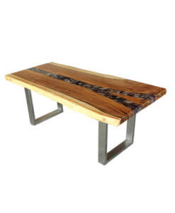 solid suar wood river like dining table