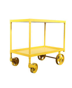 metal trolley suitable for heavy duty
