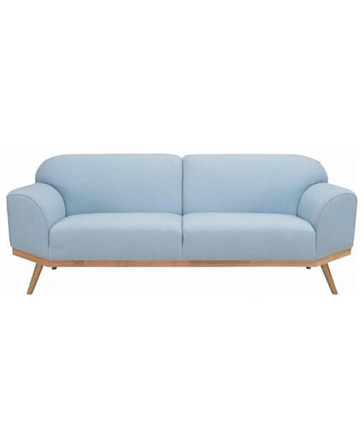 Rawley Sofa Blue Living Room Furniture (1) | Shop Furniture Online In Singapore