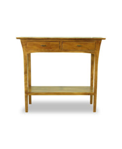 console table with two drawers