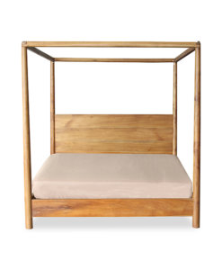 solid wood Poster Bed frame in queen and king