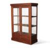 Wooden display glass cabinet