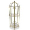 Elegant Cage design display shelf