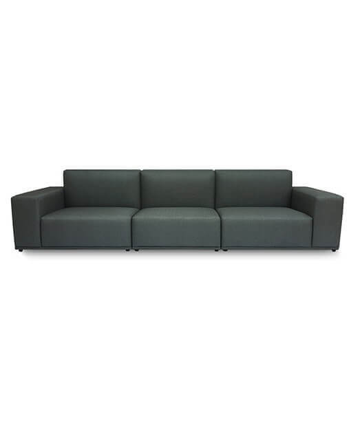 Fabric 3 Seater Sofa Sg