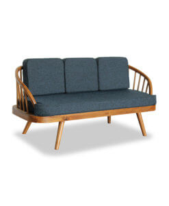 Solid Teak Wood Sofa Scandinavian