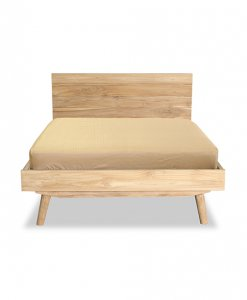 Scandinavian Solid Wood bed frame sg