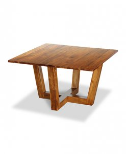 Solid Teak Wood Square Table