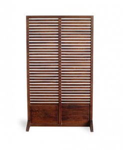 solid teak wood room partition
