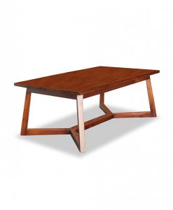 scandinavian solid wood center table