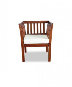 solid wood one seater sofa Singapore