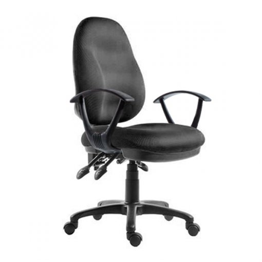 Black office chair perfect for home office and study room