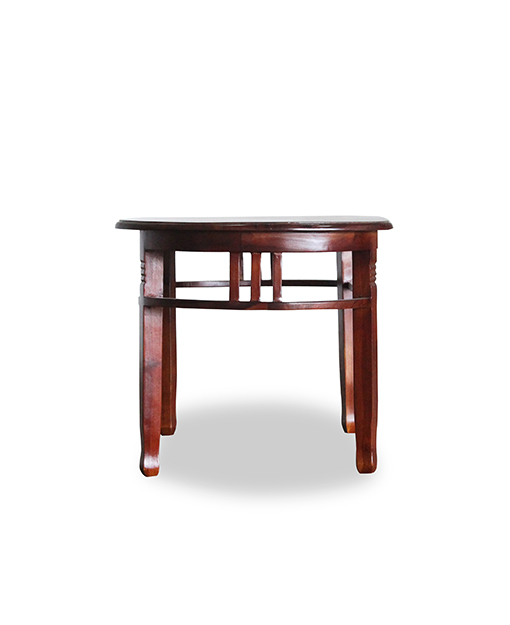 Rohann Teak Oval Coffee Table Shop Furniture Online In Singapore