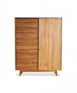 Solid Wood Storage Cabinet Singapore