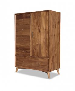 Solid Teak Wood Wardrobe for bedroom sg