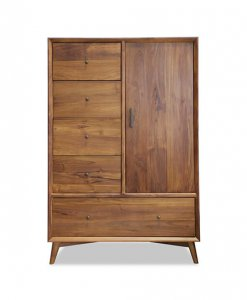 Solid Teak Wood Wardrobe for bedroom singapore