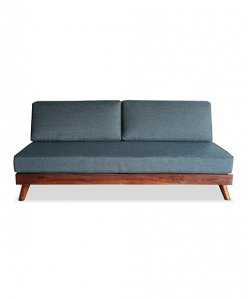 Solid teak wood frame sofa