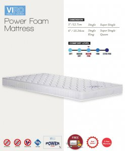 MAXCOIL VIRO Power Foam Mattress