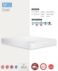 MAXCOIL VIRO Gold Bonnell Spring Mattress