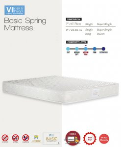 MAXCOIL VIRO Basic Bonnell Spring Mattress