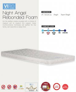 MAXCOIL VIRO Night Angel Rebonded Mattress