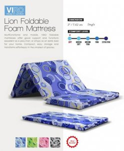MAXCOIL VIRO Lion Foldable Foam Mattress