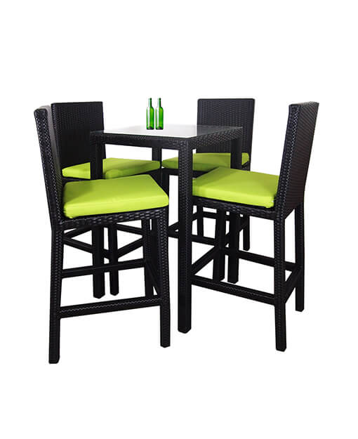 Midas Outdoor Bar Table And Chairs Set
