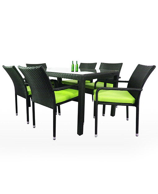 Outdoor Dining Table And Chairs Set