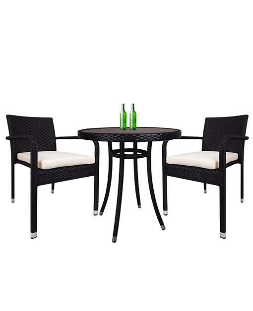 Brienna Bistro Table And Chair Set Of 3