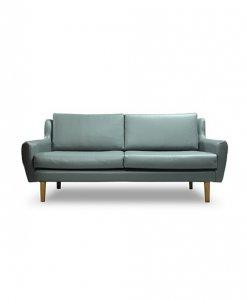 scandinavian sofa with strong wooden legs sg